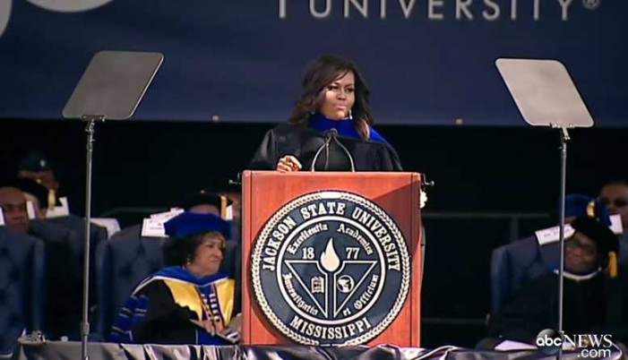 Michelle Obama Criticizes Mississippi Religious Freedom Bill During Commencement Speech
