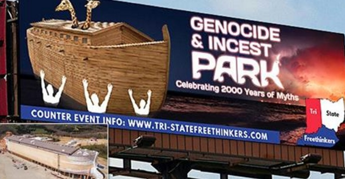Atheist Ads Mocking Answers in Genesis Ark Encounter Rejected by Billboard Companies