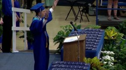 Valedictorian Leads Graduates in Lord's Prayer After District Removes Song Over Atheist Complaint
