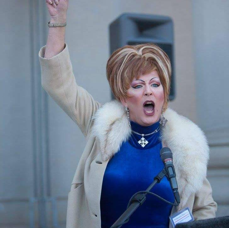 'Drag Queen' Ambrosia Starling Among Activists Pushing For