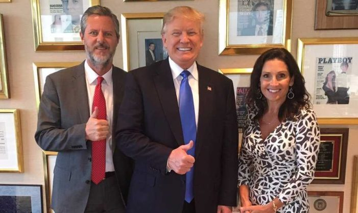 Liberty University Students Object to Jerry Falwell's Support of 'Christian' Donald Trump