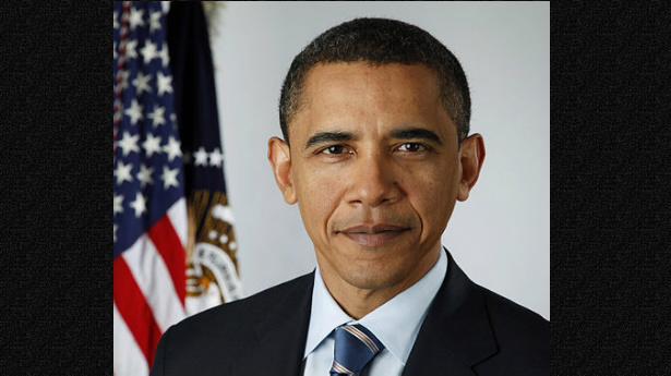 Obama With Background