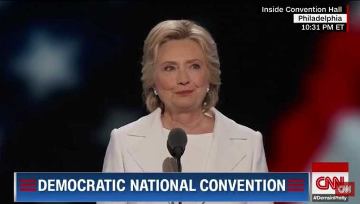Clinton Vows at DNC to Defend Homosexuality, Abortion If Elected President