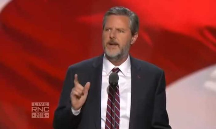 Jerry Falwell Jr. Asserts at Republican National Convention: Not Voting Trump Is Voting Clinton