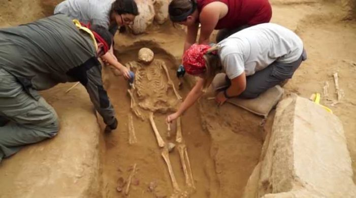 Discovery of Philistine Cemetery Provides Insight Into Israel's Biblical Foe