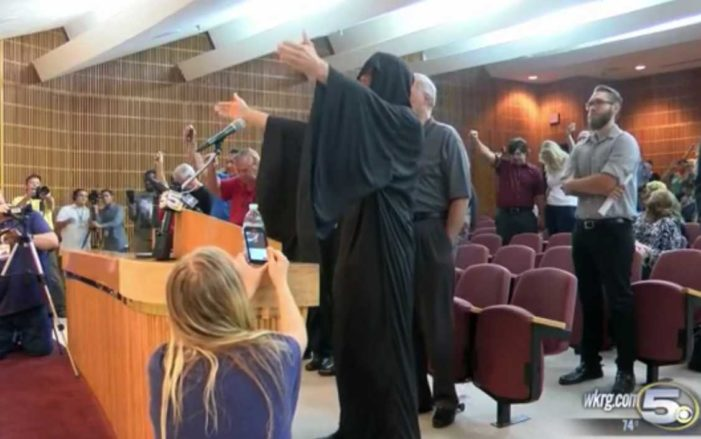 Satanist Invocation Interrupted With Lord's Prayer During Florida City Council Meeting
