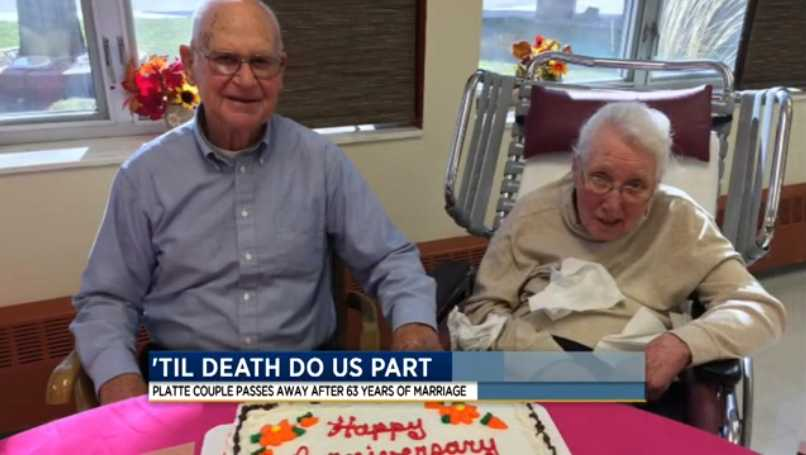 SD Husband and Wife Married 63 Years Die 20 Minutes Apart