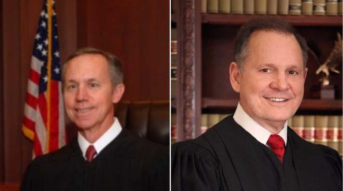 Chief Judge, Church Elder Who Voted to Strike Down Alabama's Sodomy Law Joins Court in Sending Roy Moore to Trial