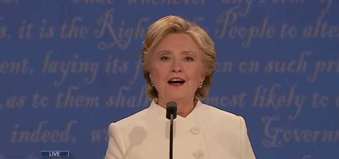 'I Strongly Support Roe v. Wade,' Clinton Reiterates at Final Presidential Debate