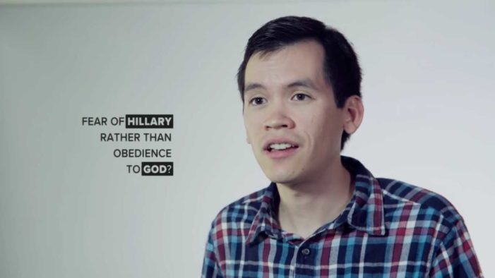 Viral Video Urges Christians to Vote Not Out of Fear of Clinton, But in Obedience to God