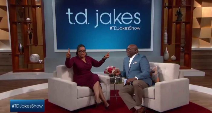'You Don't Have to Like Her': Oprah Winfrey Endorses Clinton for President on T.D. Jakes Show
