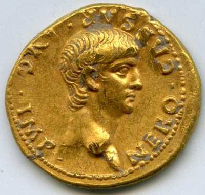 Gold Coin Depicting Roman Emperor Nero Unearthed in Israel