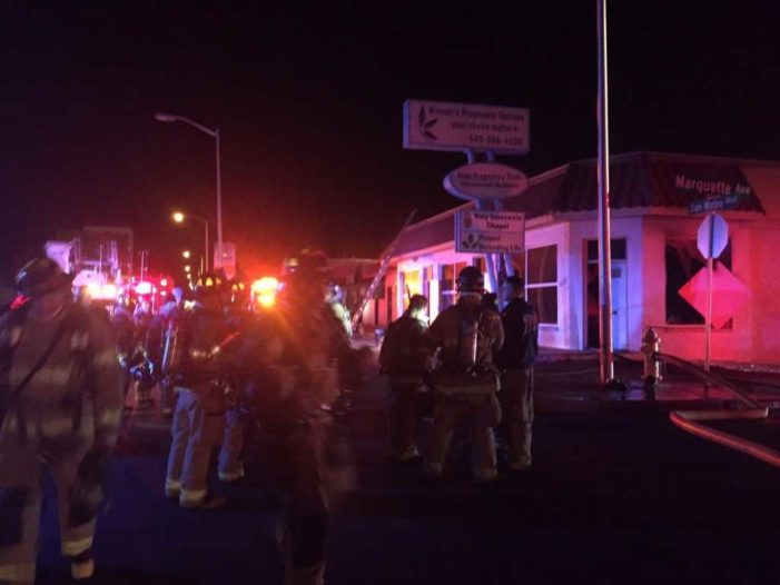 Arsonist Sets Fire to New Mexico Pro-Life Pregnancy Center
