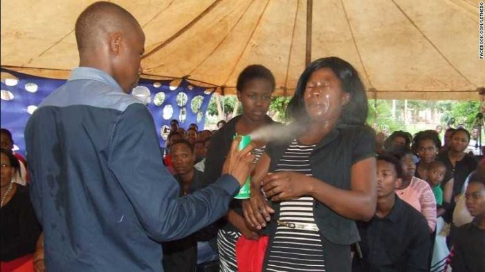 South African 'Pastor' Sprays Insecticide on Congregants 'to Heal Them'