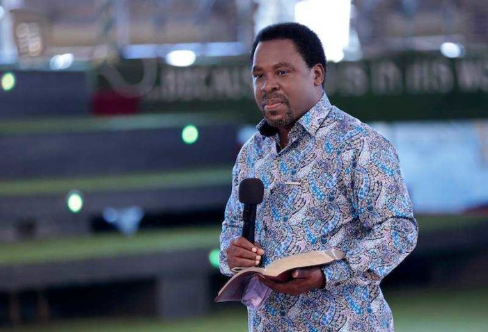 Office of African False Prophet T.B. Joshua 'Mistakenly' Deletes Prophecy of Clinton Win