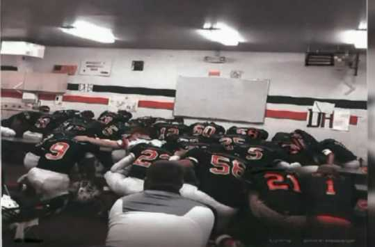 Football Coaches at Pennsylvania School Told to Stop Praying With Players Following Complaint