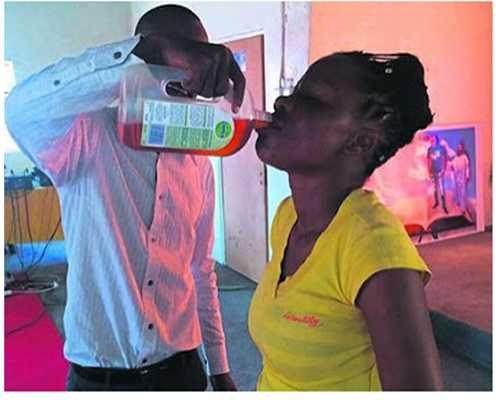 South African 'Prophet' Makes Members Drink Disinfectant for Healing