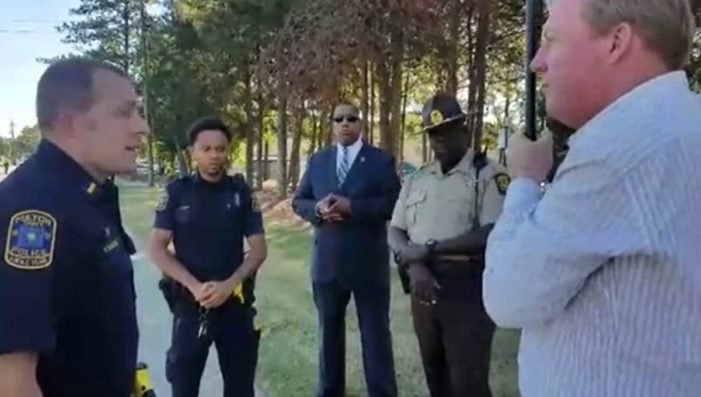 Unhinged 'Street Preacher' Lambasts Georgia Police Officer: 'You Deserve a Sniper Bullet'