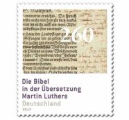 Germany Introduces Luther Bible Stamps