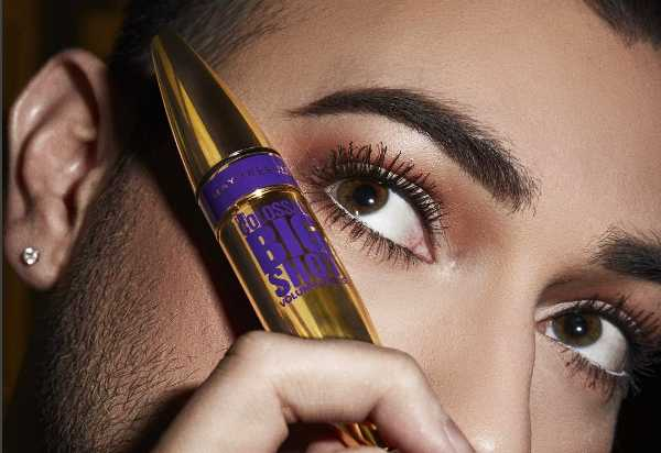 Maybelline Becomes Next Cosmetic Company to Utilize Male Makeup-Wearing Model