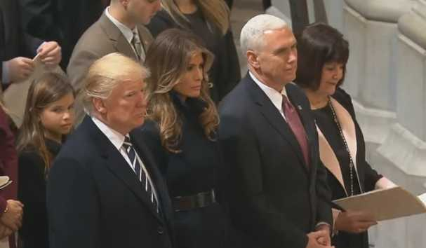 Trump, Pence Attend Prayer Service Featuring Muslim, Buddhist & Sikh Invocations, Liberty Univ. Praise