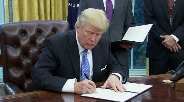 Trump Reinstates Global Gag Rule to Cut Off Abortion Funding Abroad