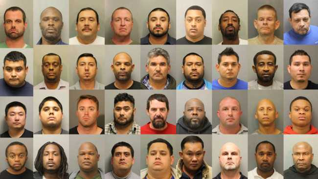 522 'Johns,' 30 Pimps Arrested in Super Bowl Sex Trafficking Sting