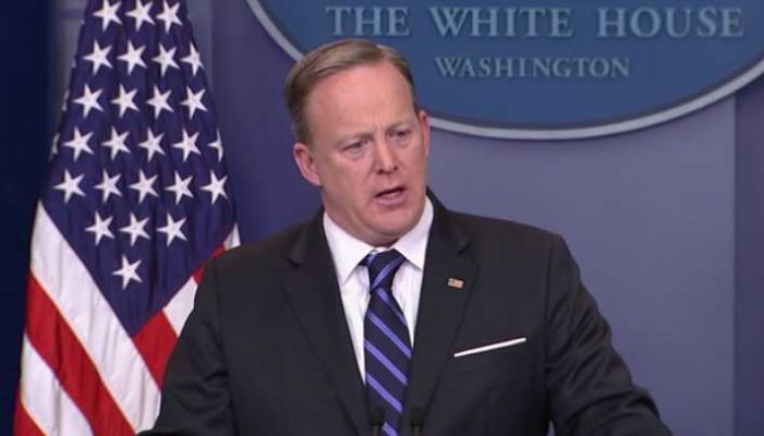Trump Press Secretary Denies 'Transgender' Restroom Directives Are 'Priority' as Admin Set to Issue New Guidelines