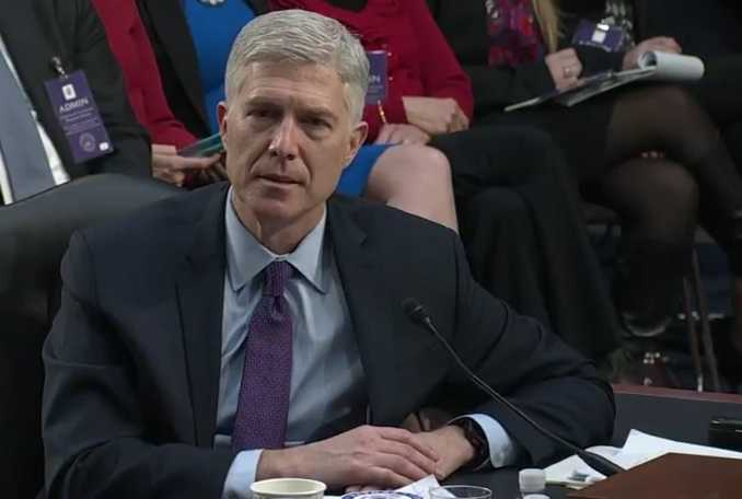 U.S. Supreme Court Nominee Neil Gorsuch: Same-Sex 'Marriage' Decision 'Absolutely Settled Law'