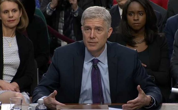 U.S. Supreme Court Nominee Neil Gorsuch: Roe v. Wade Is 'Precedent' and Has Been 'Repeatedly Reaffirmed'