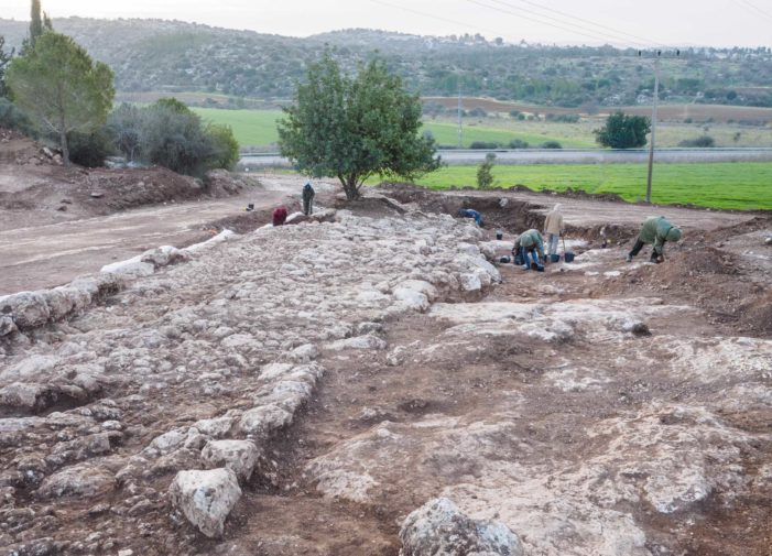 2,000-Year-Old Road Unearthed in Bet Shemesh, Israel