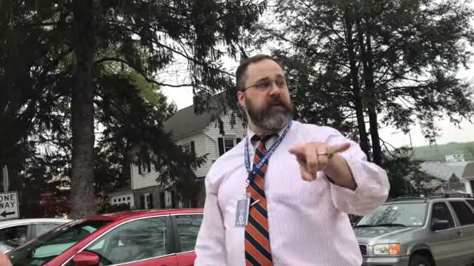 School Administrator Who Cursed at Teens Sharing Abortion Abolition Message on Sidewalk Resigns