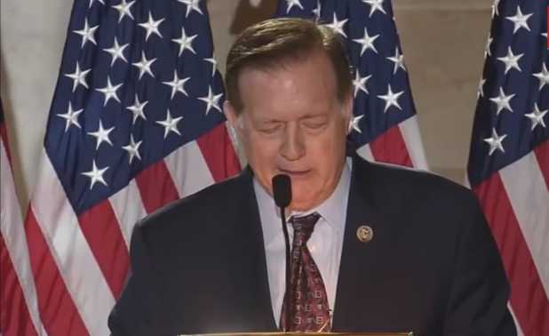 Texas Lawmaker Tearfully Implores God for Forgiveness of America's 'Manifold Sins'