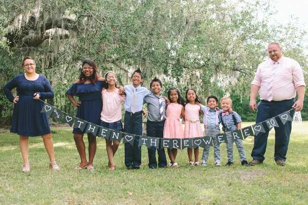 'Then There Were 10': Georgia Family Adopts Seven Siblings in Foster Care