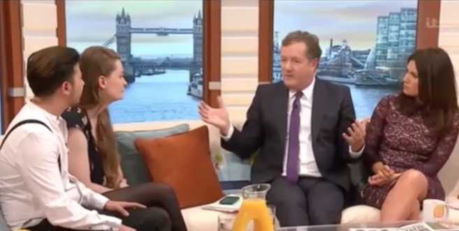 Piers Morgan Stirs Controversy for Asking 'Non-Binary' Couple If He Could Identify as Black Woman, Elephant