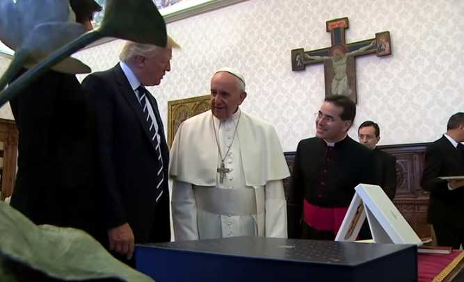 Trump Calls Meeting With 'His Holiness Pope Francis' an 'Honor of a Lifetime'