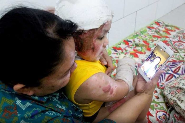 Aged Four and Scarred for Life: The Children Who Survived the Indonesian Church Attack