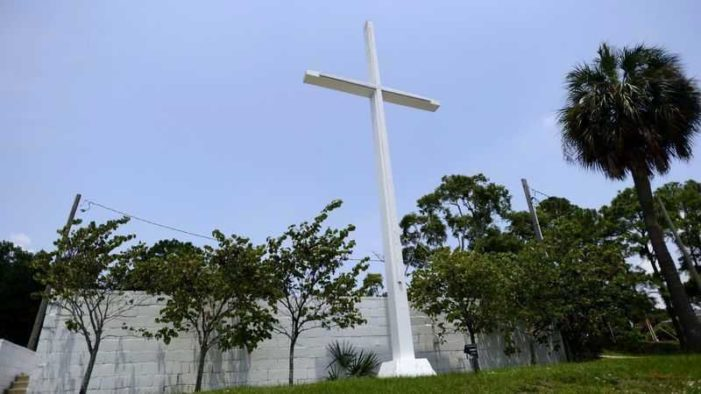 Reagan Judge Reluctantly Rules Cross Displayed in Florida Park Must Be Removed