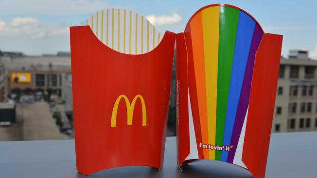 McDonald's to Utilize Rainbow Fry Boxes in California Bay Area for 'Gay Pride' Month