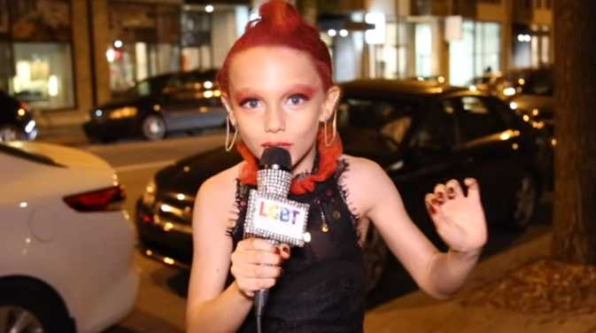Eight-Year-Old Drag Queen: If Your Parents Won't Let You Do Drag, 'You Need New Parents'
