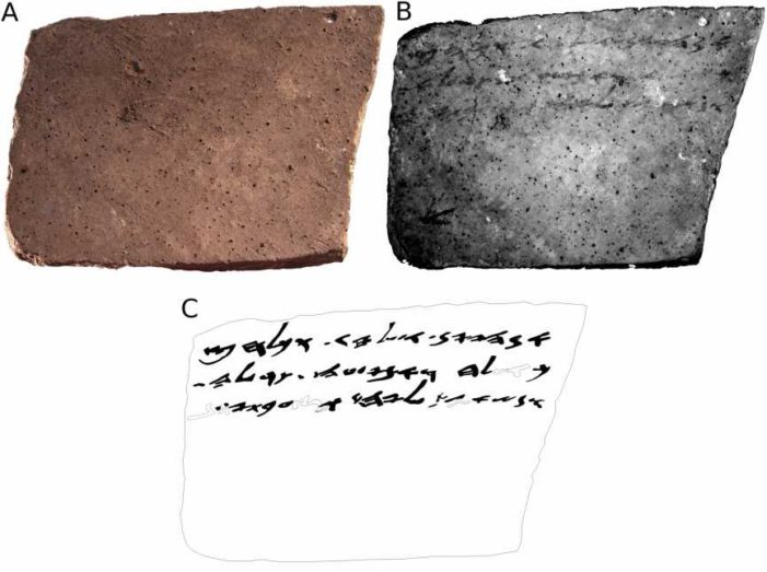 Revolutionary Technology Reveals Dazzling 'Hidden' Text on Biblical-Era Shard