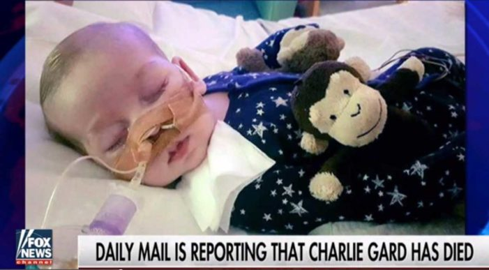 Charlie Gard, Infant at Center of Parental Authority Case, Dies in Hospice After Life Support Withdrawn