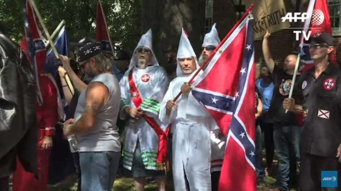 Virginia KKK Rally Countered by 1,000 Protesters