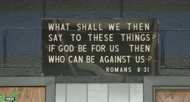 Tennessee Police Department to Relocate Scripture Plaque Following Complaint From Activist Group