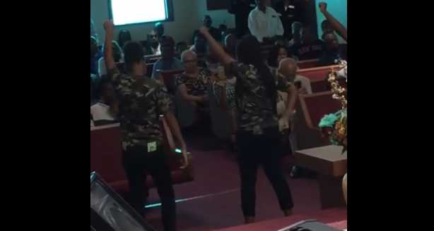 Pastor Defends Dance During Service To Profane Rap Song Claims Men