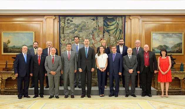 King, Queen of Spain Receive Evangelicals at Royal Palace