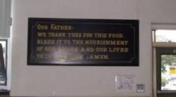 Residents Voice Concern After School Removes Plaque Thanking God for Food Following Complaint