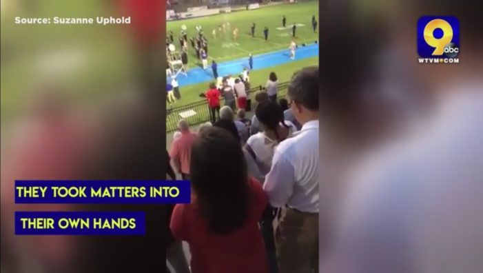 Crowd Recites Lord's Prayer at Football Game After Group Complains About Loudspeaker Prayer