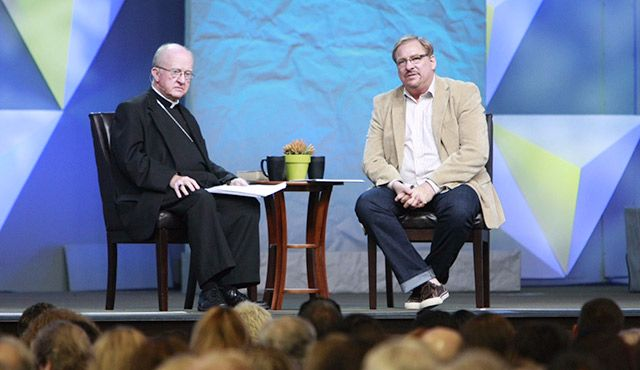 Rick Warren Hopes His Partnership With Roman Catholic Leader Will Become 'Model' for World