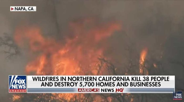 California on Fire: Death Toll Rises, Smoke Delays Flights Out of State